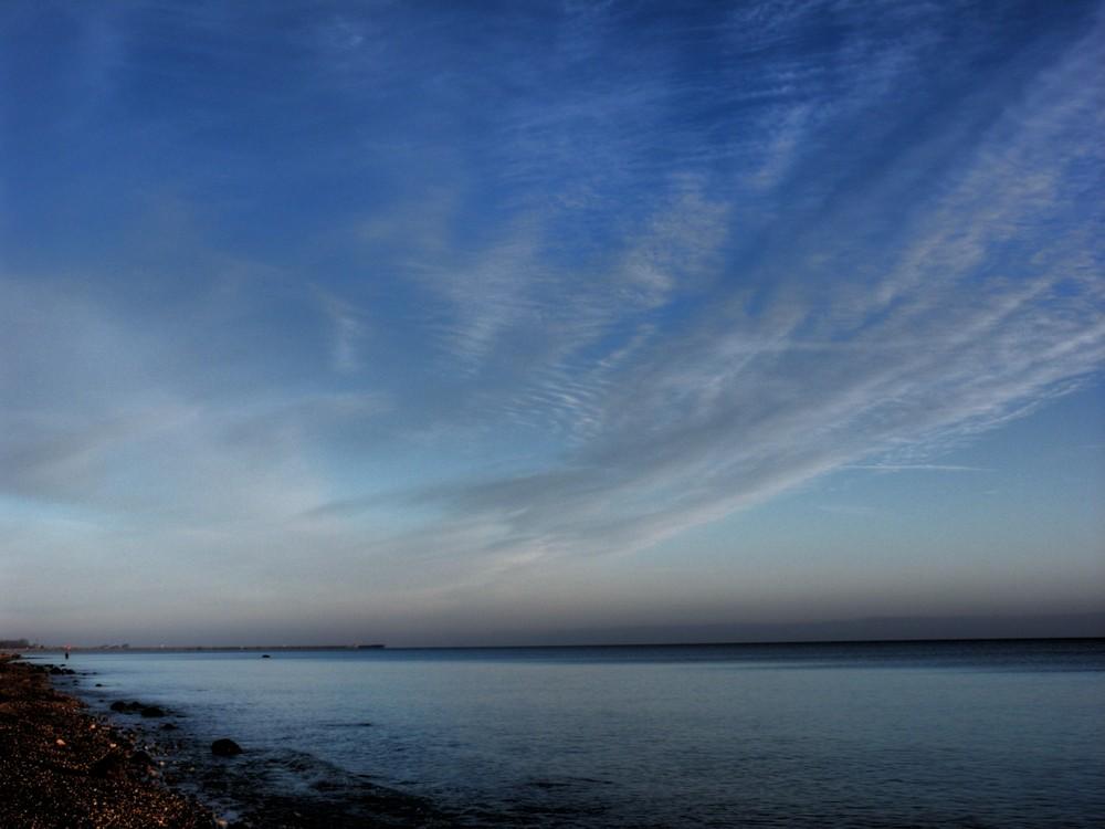 Ostsee im November - mal das Gegenteil von Küstennebel