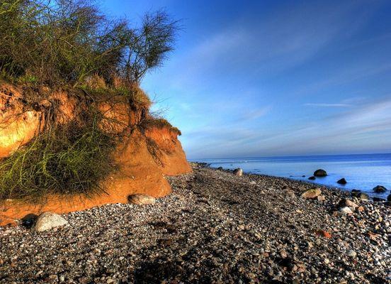 Ostsee im Steilküstenbereich