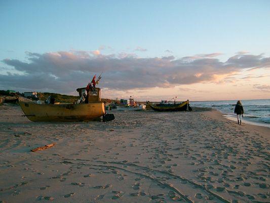 Ostsee in Polen am Frischen Haff