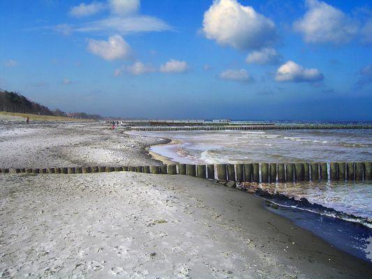 Ostsee in Zingst