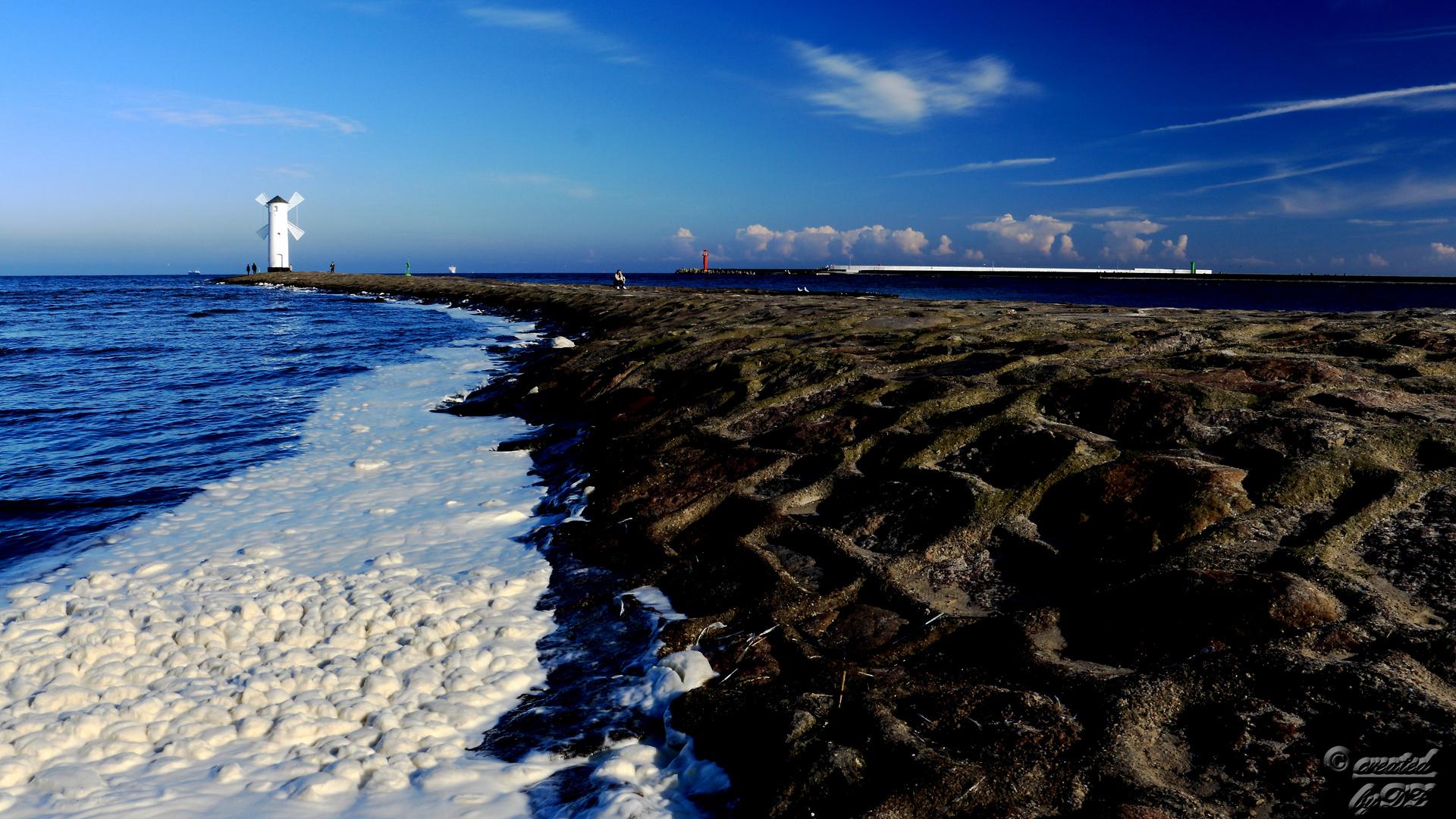 Ostsee Schaumbad