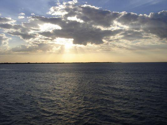 Ostsee schläft ein