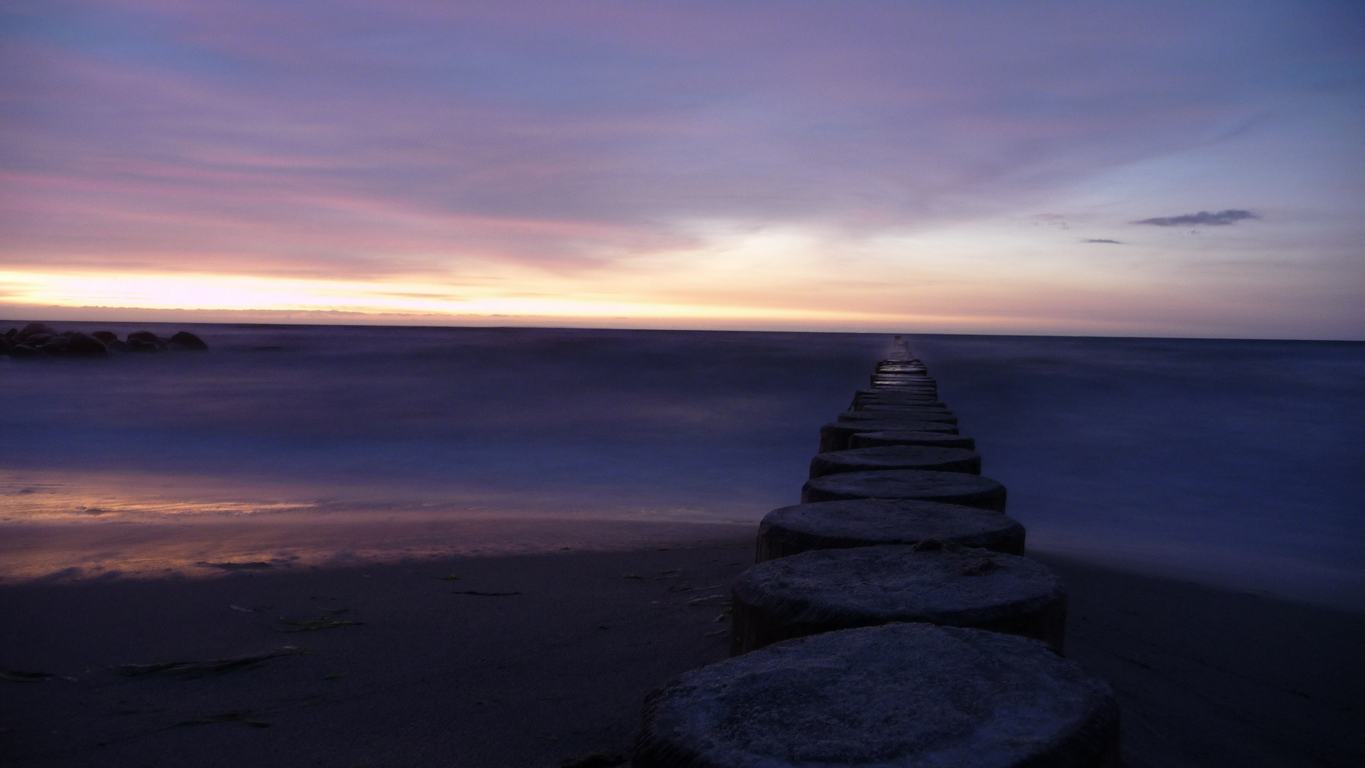 Ostsee Sonnenuntergang