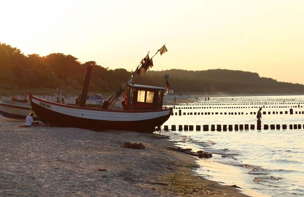 Ostsee -Zempin - Fischerboot