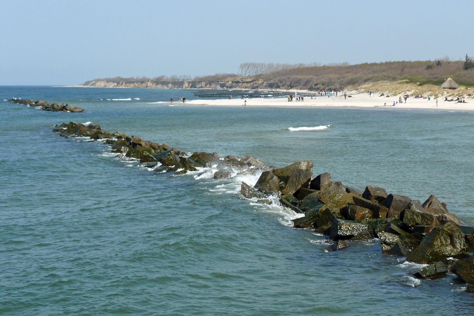 Ostsee zu Ostern