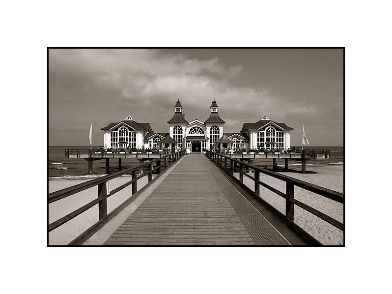 Ostseebad Sellin Seebrücke