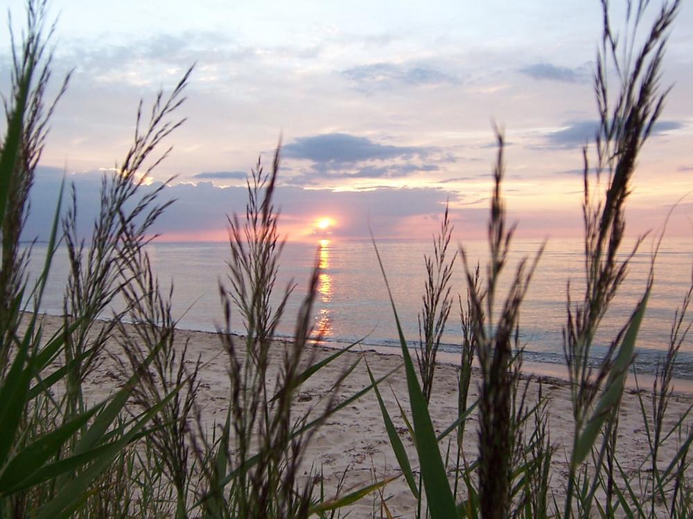 Ostseesonnenuntergang