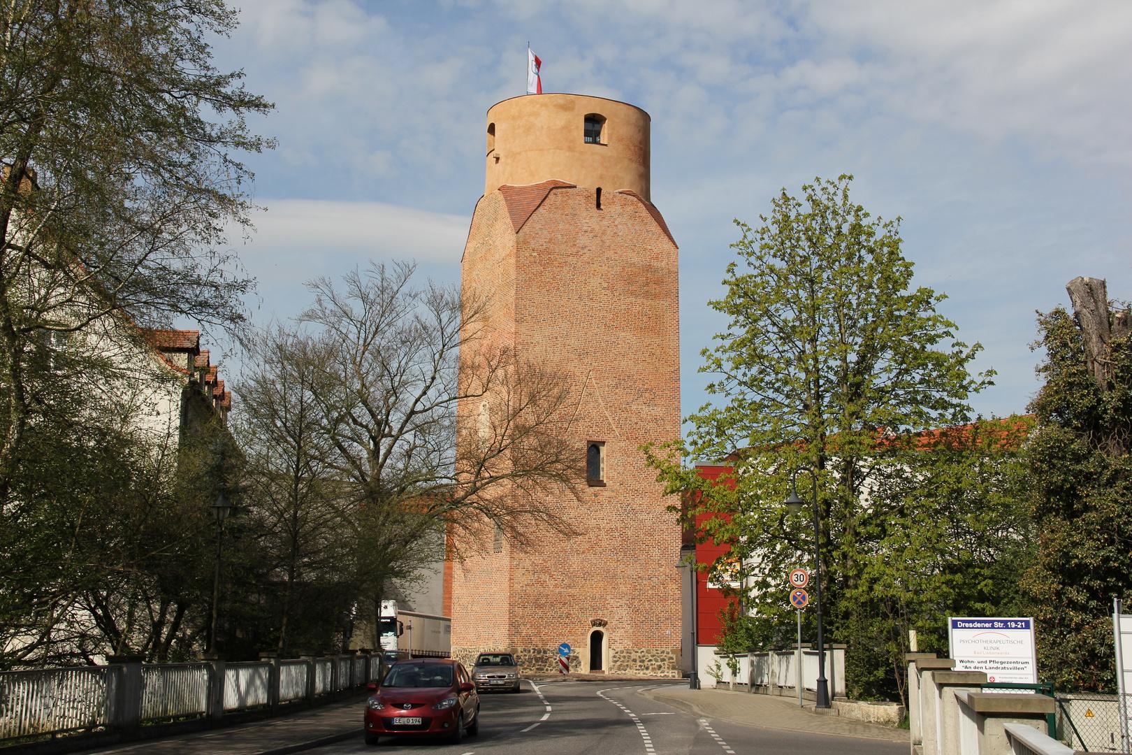 Ostseite Lubwartturm Bad Liebenwerda