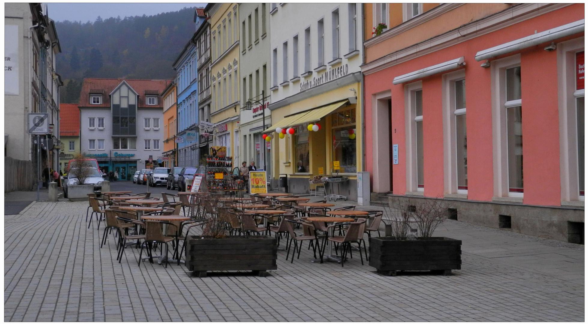Otoño en la ciudad, Meiningen