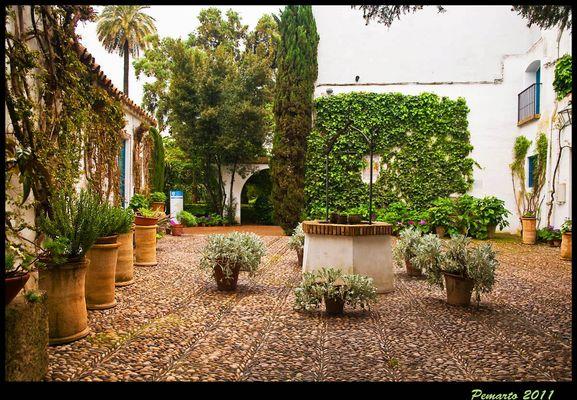 Otro Patio del Palacio de Viana-Córdoba. ---Dedicada a Manolo Torres