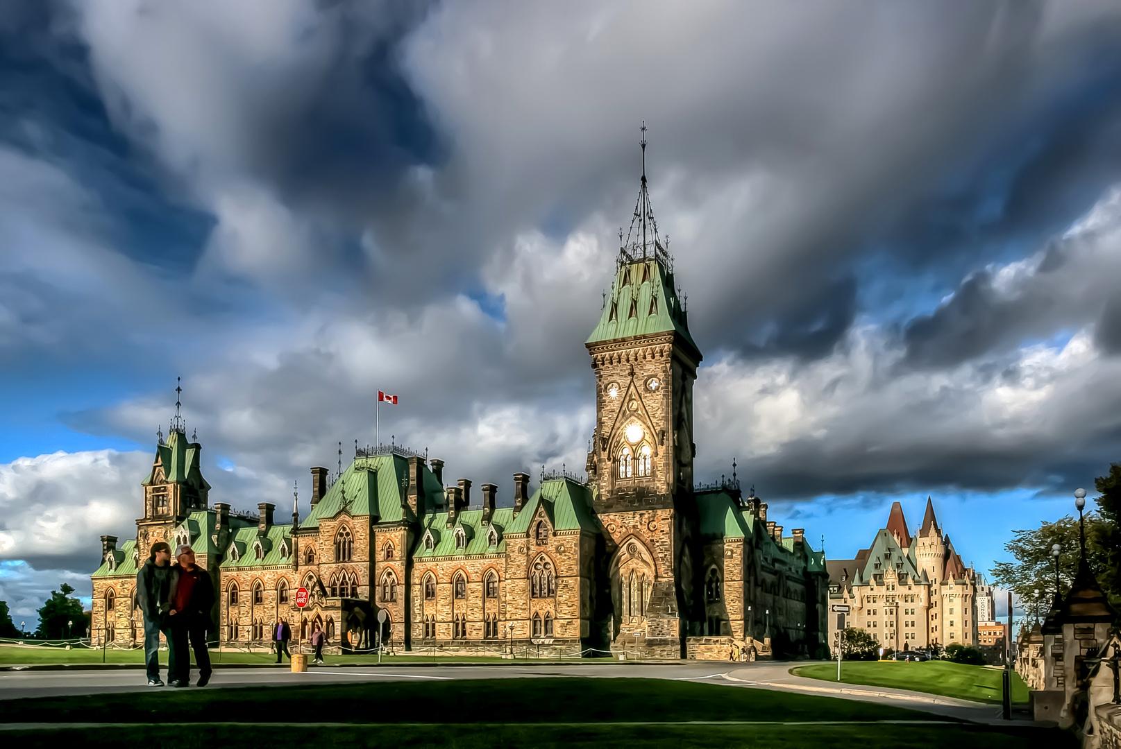 Ottawa/ Parlamentsgebäude