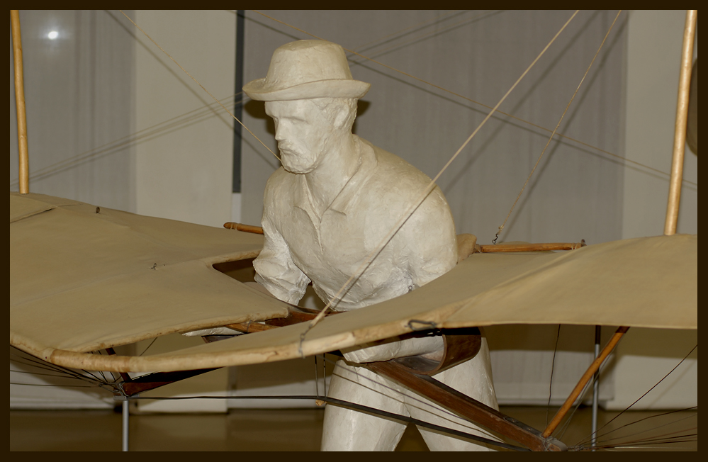 Otto Lilienthal - Erste Flugversuche