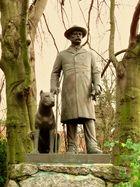 Otto von Bismarck mit Hund