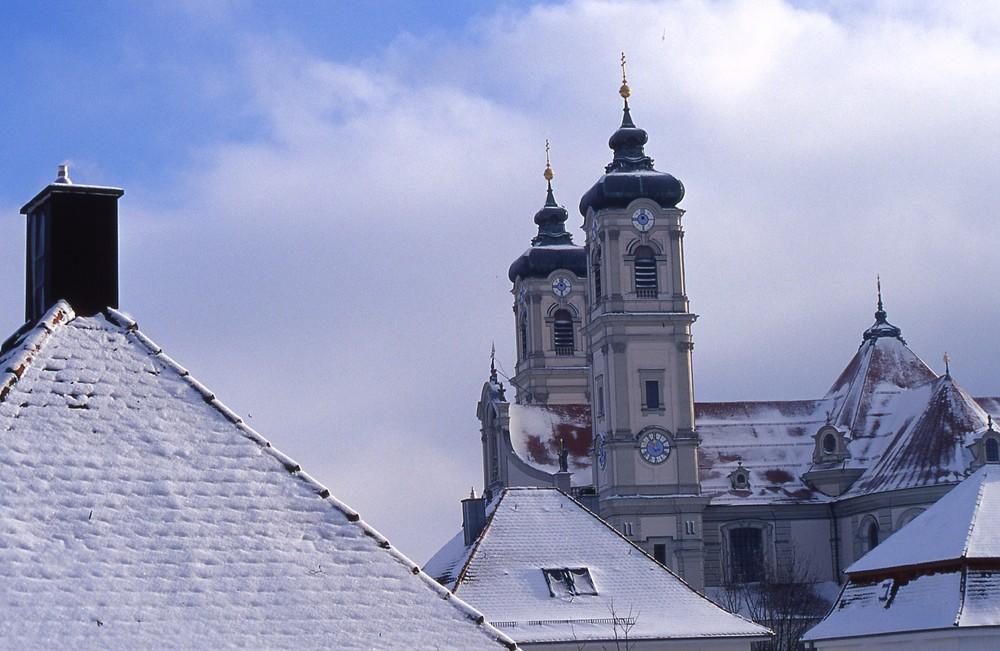 Ottobeuren, Blick zur Basilika