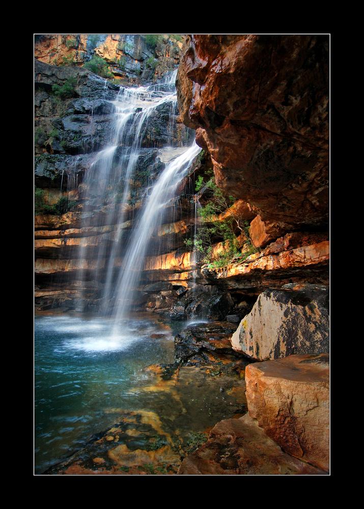 Ou Berg Wasserfall