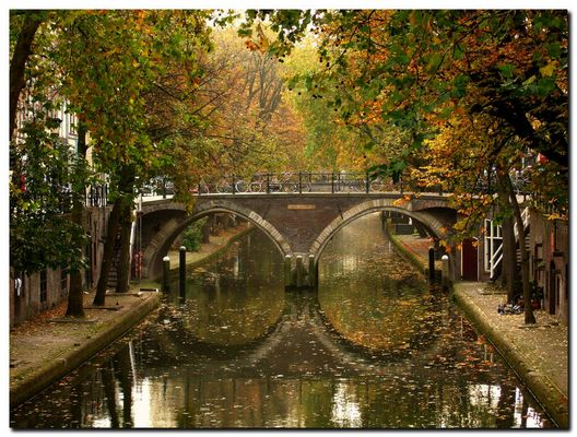 Oude gracht, reflexes 3