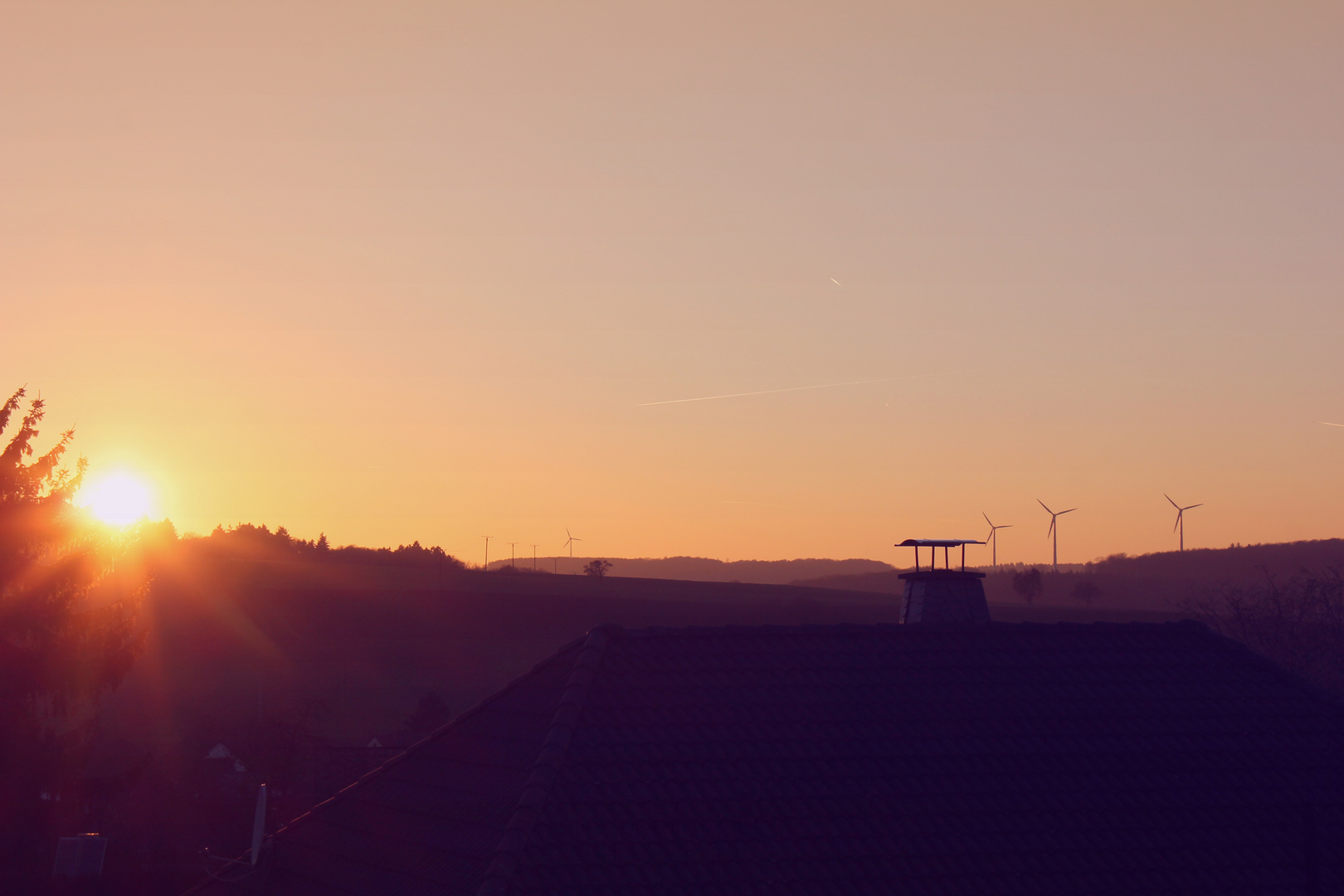 Our Sun down