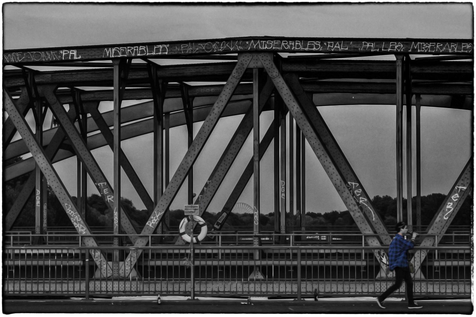 OVER THE BRIDGE.....