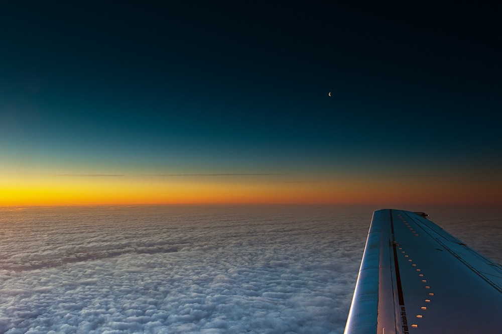 Over the Clouds...