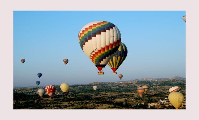 Over the skies of Anatolia