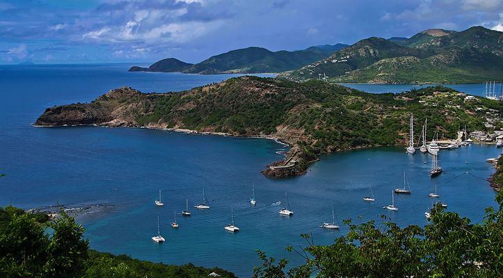 Overview of Antigua  -Impressions of Caribbean - Motiv vom Weltenbummler