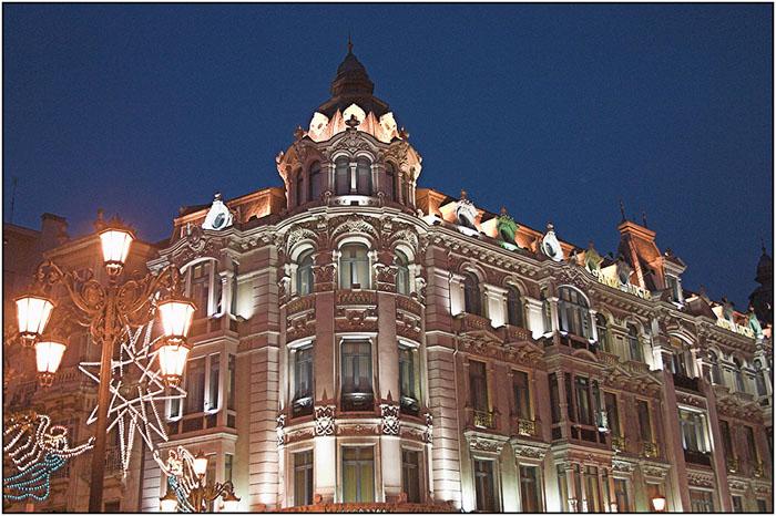Oviedo by night