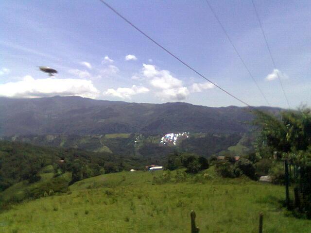 OVNI visto en Tachira- venezuela
