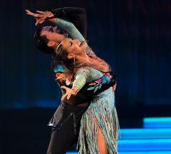 Oxana Lebedev und Ilia Russo bei der Samba (3 reloaded)
