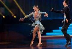 Oxana Lebedev und Ilia Russo bei der Samba (4)