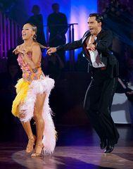 Oxana Lebedev und Ilja Russo beim Jive 1