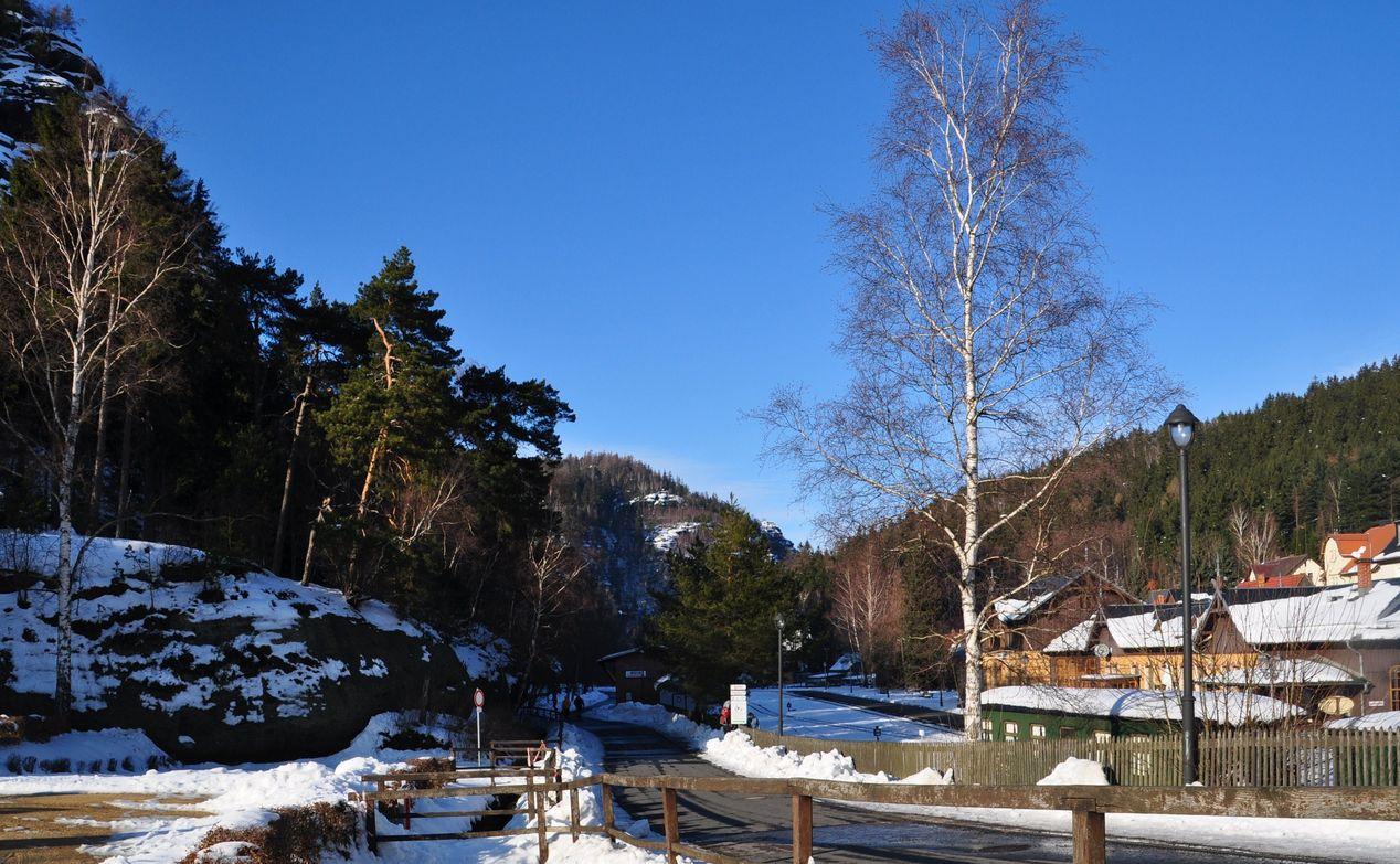 Oybin im Winter