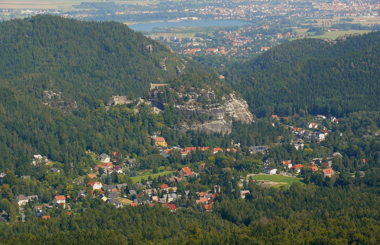 Oybin-Ort und Berg
