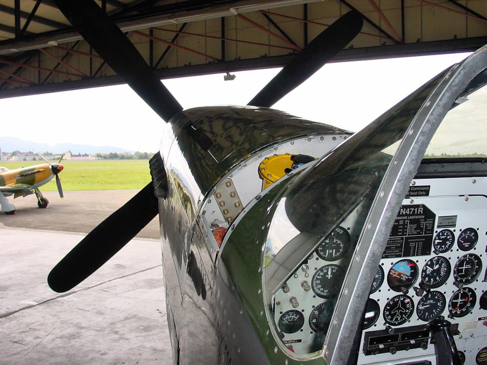 P-51 meets YAK-9