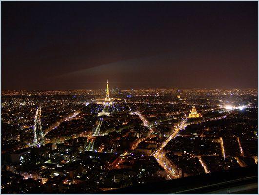 P a r i s (1) - Blick vom Tour Montparnasse