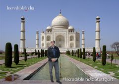 P* MT vor TAJ MAHAL INCREDIBLE INDIA