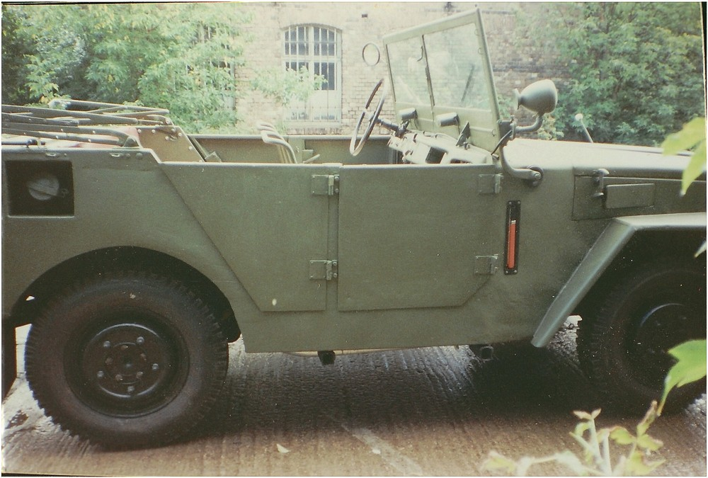 P2M-German Military Car.Year of contruction 1955.