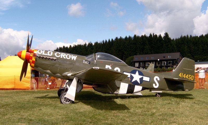 """P51D Mustang """"Old Crow"""" II."""