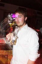 Pablo beim Clubbing im Crowns Club, fotografiert für Eraffe.de