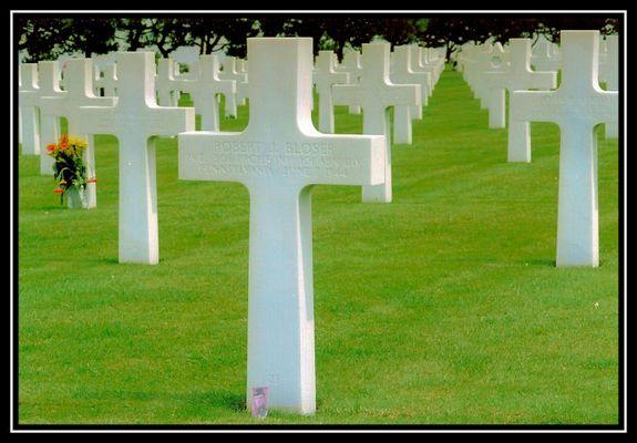 pace su Omaha beach - Normandia -