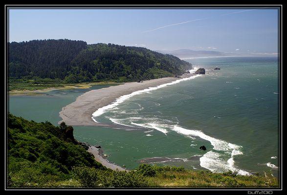 Pacific Coast in Nord-Kalifornien