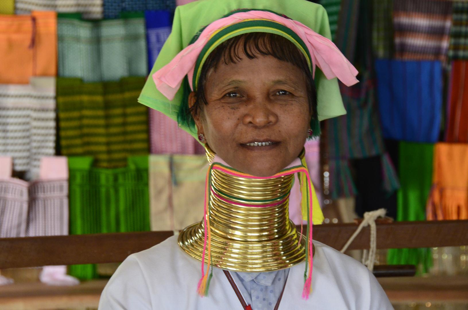 Padaung-Frau aus Myanmar