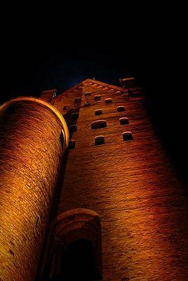 Paderborner Dom illuminiert
