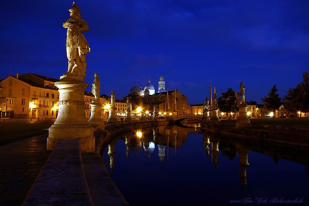Padova, Prato della Valle i Basilica di Santa Giustina