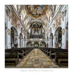 """Päpstl Basilika St Emmeram_Regensburg """" Gott zu Gefallen..."""""""
