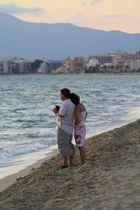 Pärchen an der Küste von Palma