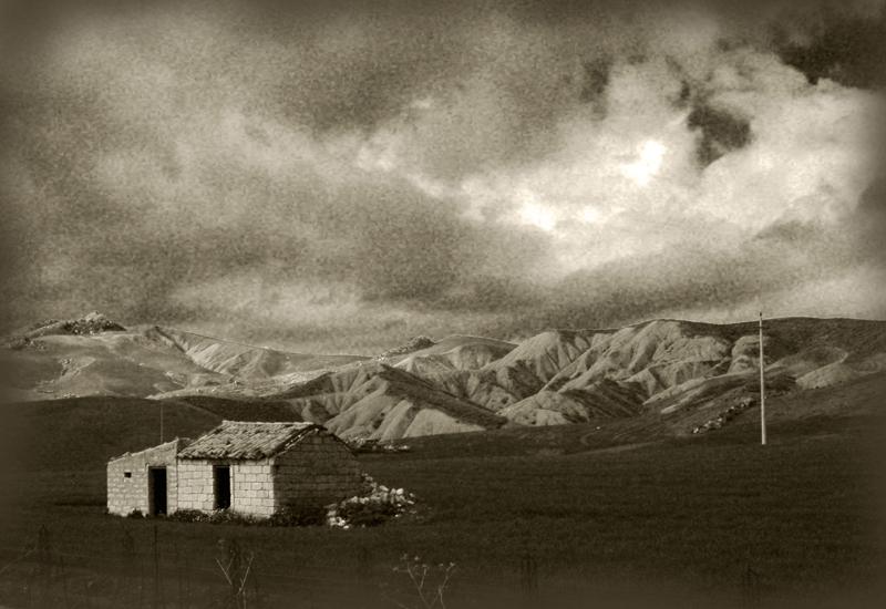 Paesaggio dell'entroterra siciliano