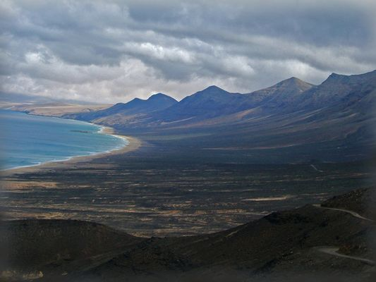 Paesaggio vulcanico a Fuerteventura