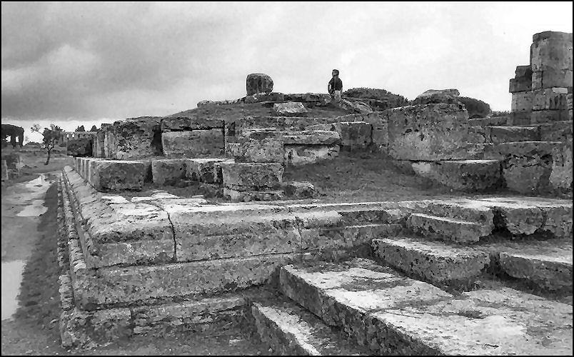 Paestum dopo il temporale