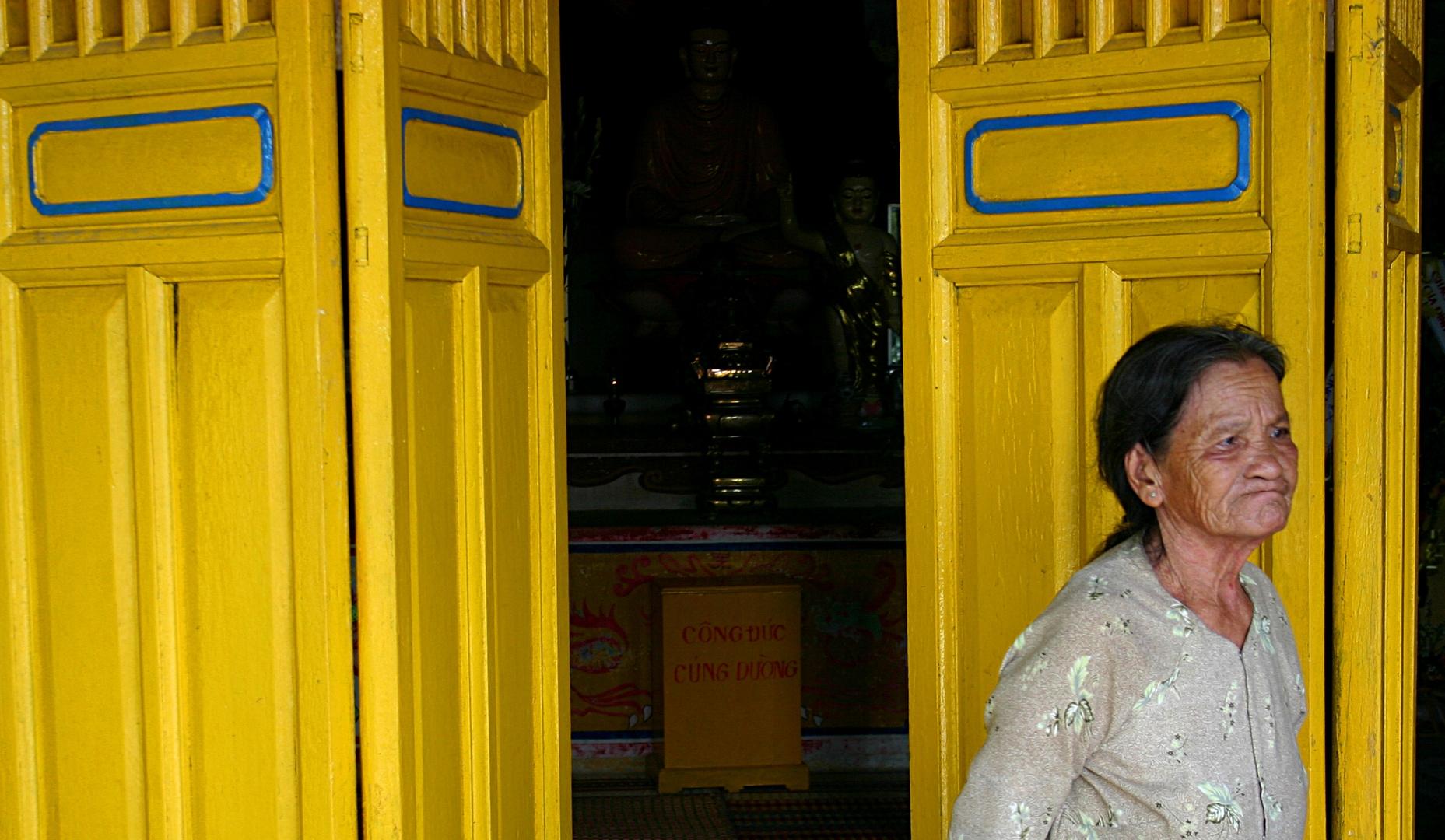 pagoda keeper