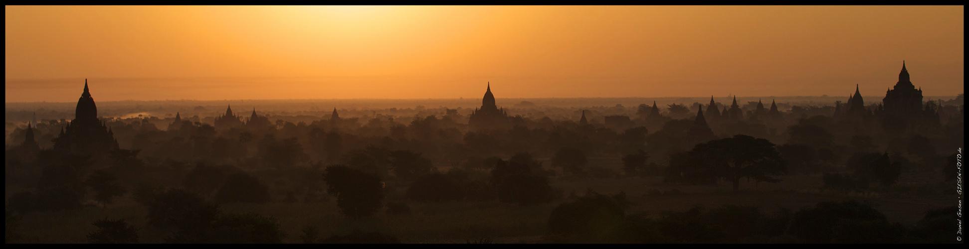 Pagodas of Bagan, Myanmar/Burma 2012